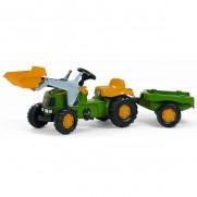 John Deere Tractor, Trailer and Loader