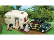 Sylvanian Caravan and Family Car