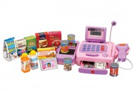 Electronic Pink Cash Register
