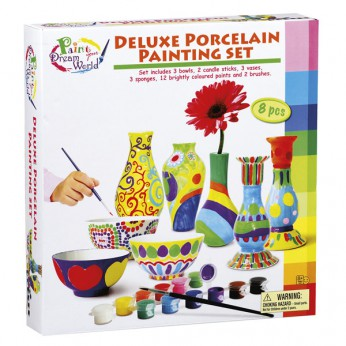 Deluxe Porcelain Painting Set reviews