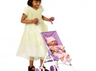 72cm Doll's Umbrella Stroller