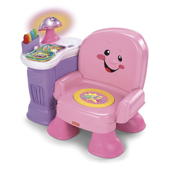 fisher price song story musical chair pink reviews toylike