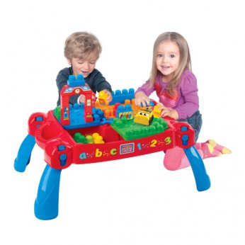 Mega Bloks Build N Learn Table reviews