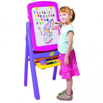 Crayola Pink Quickflip 2 Sided Easel reviews