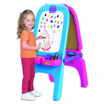 Crayola Pink Magnetic Double Easel reviews
