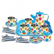 Tin Coffee Set