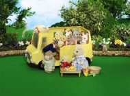 Sylvanian Nursery School Bus Added Value