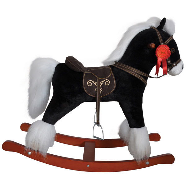 Best Toys For 10 Years : Black rocking horse reviews toylike