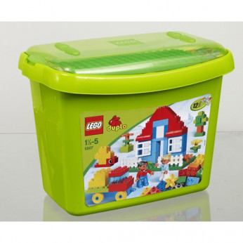 LEGO Duplo Deluxe Brick Box 5507 reviews