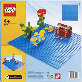 LEGO Building Plate Blue 620 reviews