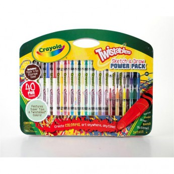 Crayola Twistable Sketch and Draw reviews