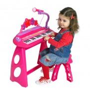 Groovy Stars Pink Keyboard
