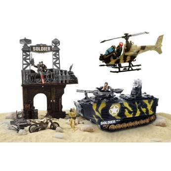 Soldier Force Steel Badger Playset reviews