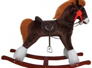 Brown Rocking Horse