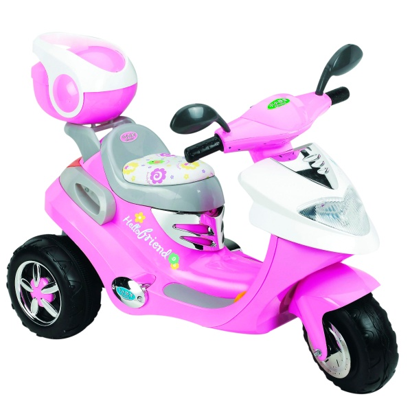 Pink electric scooter reviews toylike for Toys r us motorized scooter