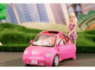 Barbie Doll and Beetle