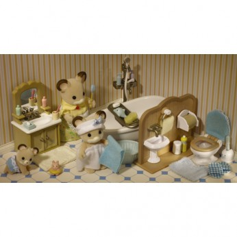 Sylvanian Country Bathroom Set reviews