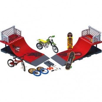 Stunt X Deluxe Half Pipe Set reviews