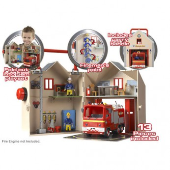 Fireman Sam Deluxe Firestation reviews