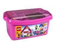 LEGO Large Pink Brick Box 5560