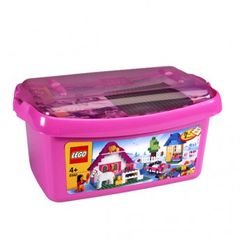 LEGO Large Pink Brick Box 5560 reviews