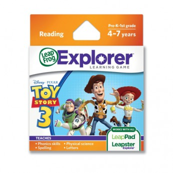 LeapFrog Explorer Toy Story3 Game reviews