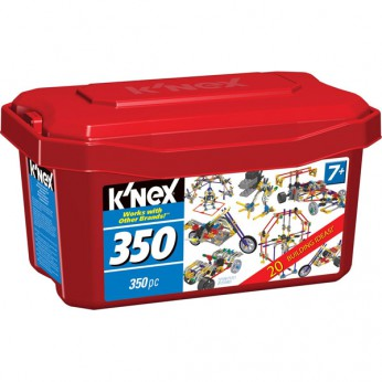 K'Nex 350 Piece Tub reviews