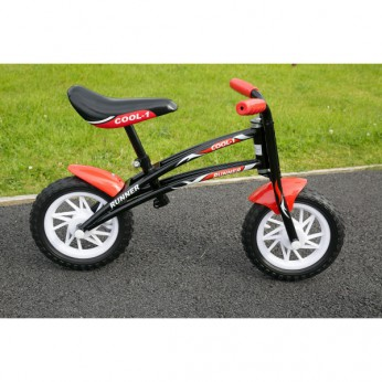 Runner Balance Bike Black