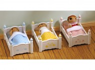 Sylvanian Triple Bunk Bed Set