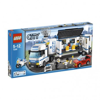 LEGO City Mobile Police Unit 7288 reviews