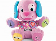 Fisher Price Laugh and Learn Puppy Pink