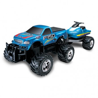 Remote Control Ford Extreme with Jet Ski reviews