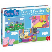 Peppa Pig Trio Jigsaw Puzzle
