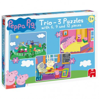 Peppa Pig Trio Jigsaw Puzzle reviews