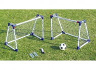 2 Junior Soccer Goal Sets