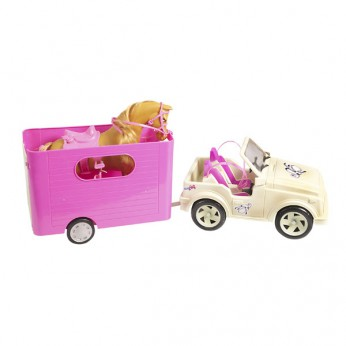 Deluxe Horse and Trailer Set reviews