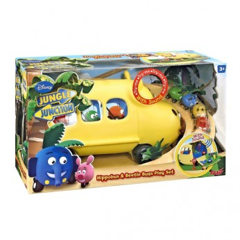 Jungle Junction Hippobus and Beetle Bugs Play Set reviews