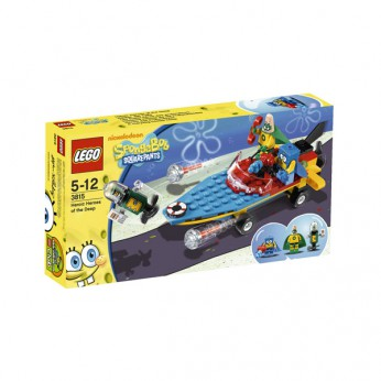 LEGO SpongeBob Heroic Heroes of the Deep 3815 reviews