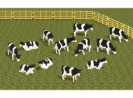 12 piece Cow Set