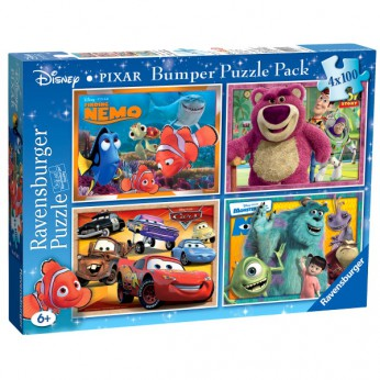 Disney Pixar 4x100pc Bumper reviews