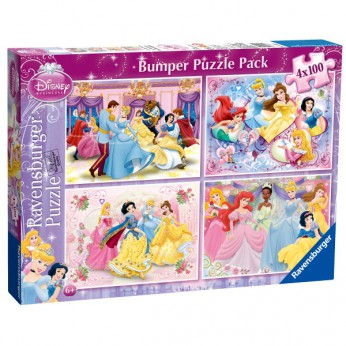 Disney Princess 4x100pc Bumper Jigsaw reviews