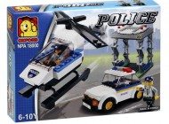 Police Helicopter Rescue Set