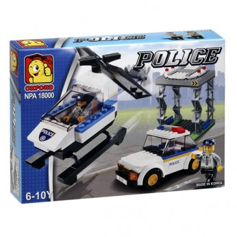 Police Helicopter Rescue Set reviews