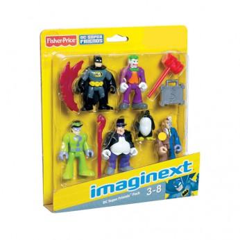 Imaginext DC Super Friends 5 Figure Pack reviews