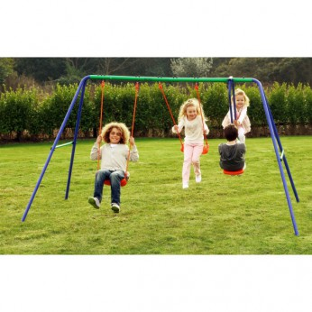 Delta Double Swing and SeeSaw Swing Set reviews