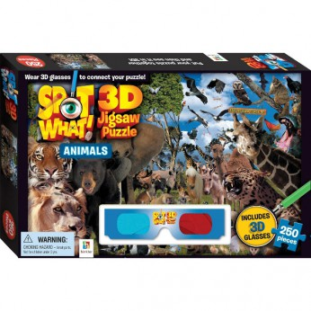 Spot What 3D Puzzle Animals reviews