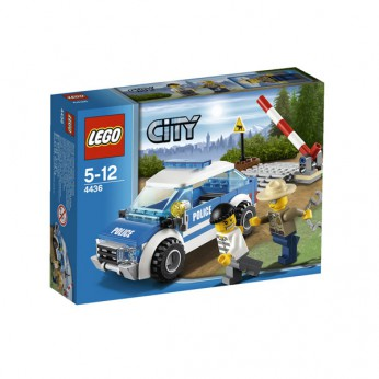 LEGO City Patrol Car 4436 reviews