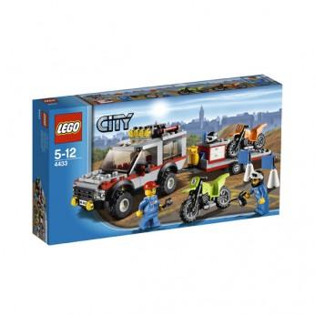 LEGO City Dirt Bike Transporter 4433 reviews