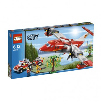 LEGO City Fire Plane 4209 reviews