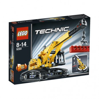 LEGO Technic Tracked Crane 9391 reviews